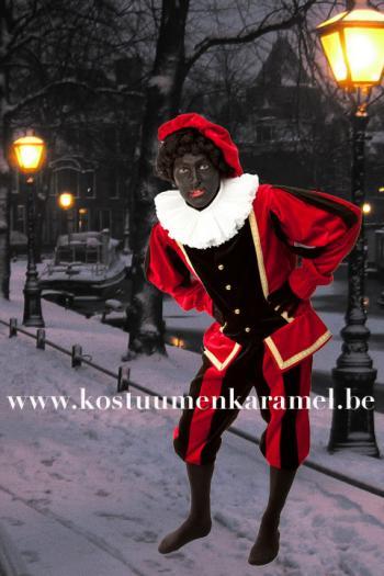 Zwarte Piet Pak Fluweel