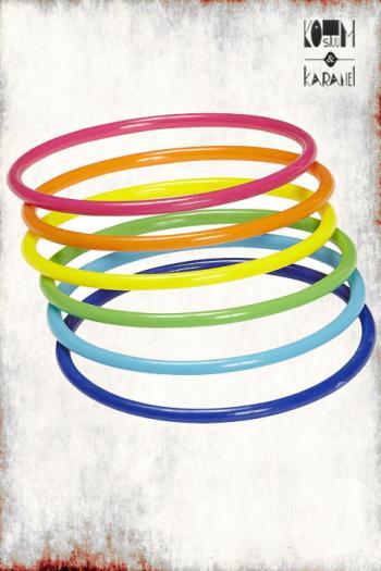Fluo Armbanden 25 stuks