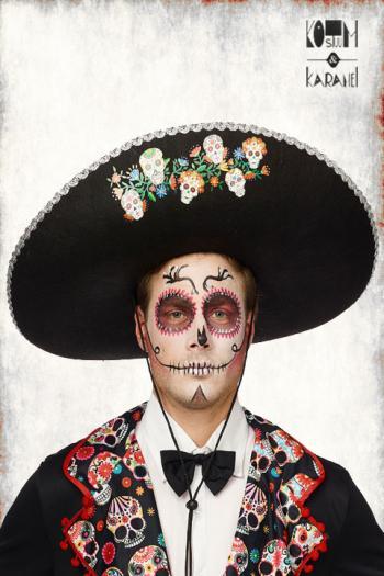 Mexicaanse Hoed Dia de los Muertos
