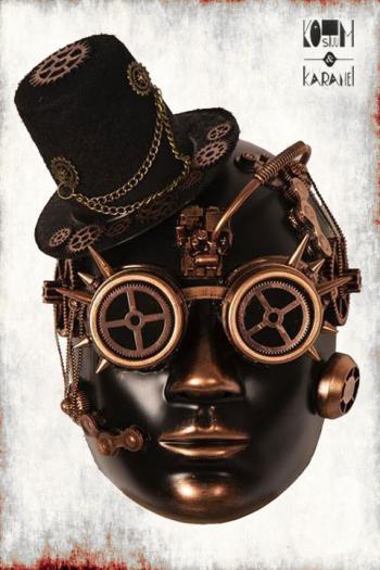 Masker Black Steam