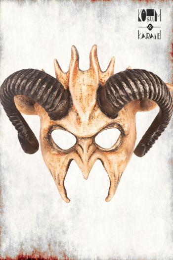 Masker Demon met Hoorns