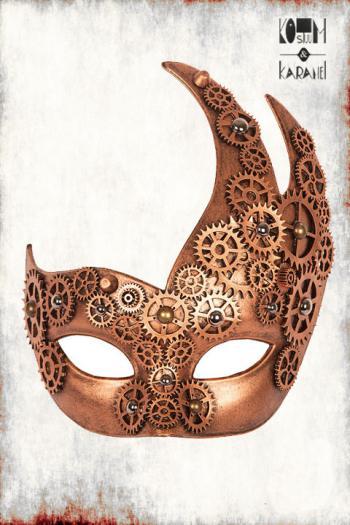 Venetiaans Masker Steampunk