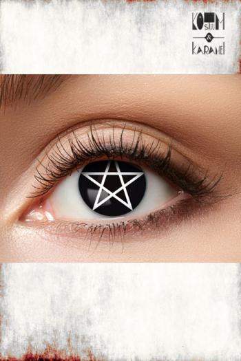 Lens Black Pentagram