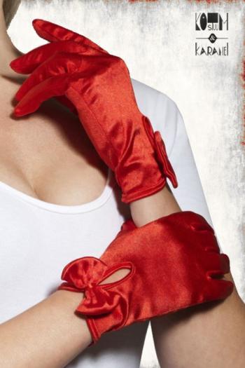 Elegante handschoenen rood