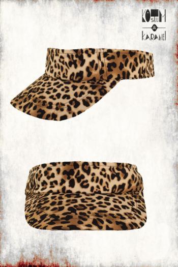 Zonneklep Luipaard Print