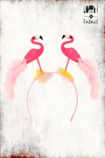 Diadeem Flamingo Pink