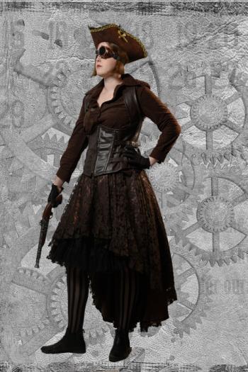 Steampunk Miss Butler