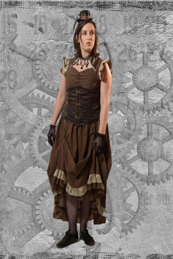Steampunk Miss Pennington