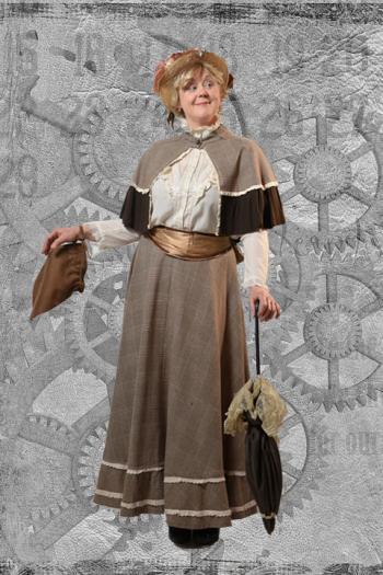 Steampunk Miss Burdon