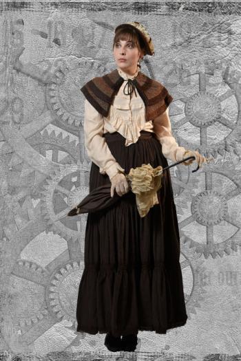 Steampunk Miss Jefferson