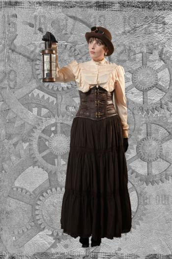 Steampunk Miss Steel
