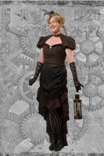 Steampunk Miss Kettel