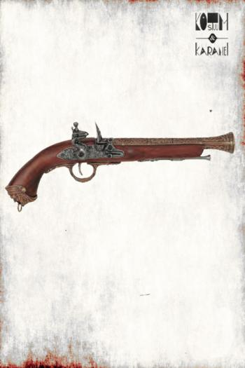 Pistool Flintlock Goud