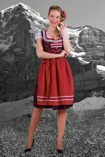 Dirndlkleedje Alpen
