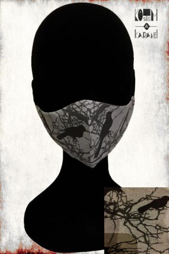 Mondmasker BLACK CROW