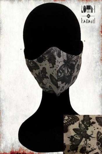Mondmasker BLACK BUTTERFLY