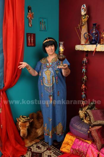 Egyptische marktvrouw