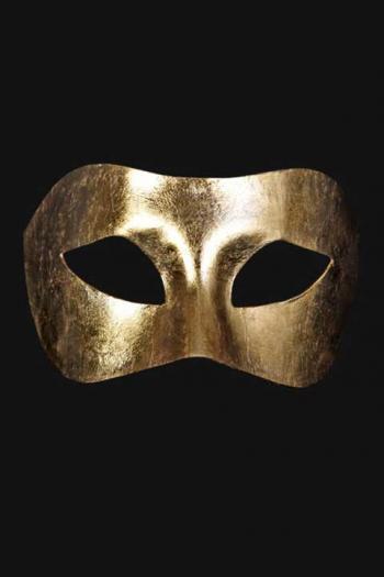 Venetiaans Oogmasker Heren Goud Boreas