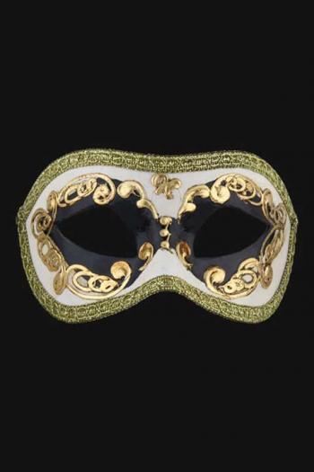 Venetiaans Oogmasker Man Zwart Europa