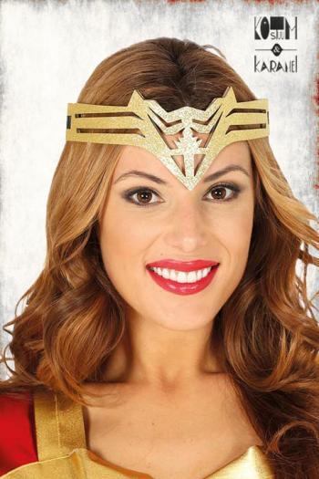 Kroontje Wonderwoman Goud
