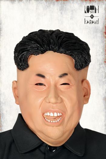 masker Kim Jong Un