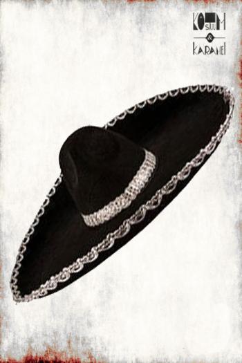 Sombrero Zwart