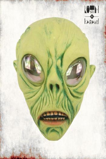 Masker Alien Latex Groen