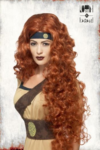Pruik Warrior Queen