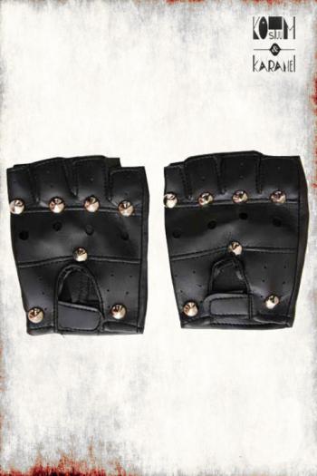 Handschoenen Punk met Studs
