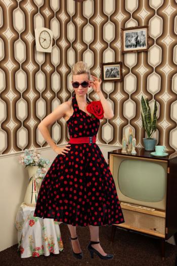 Halter jurk, Audrey