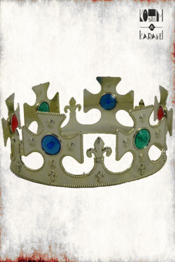 Kroon Plastiek Goud Zilver