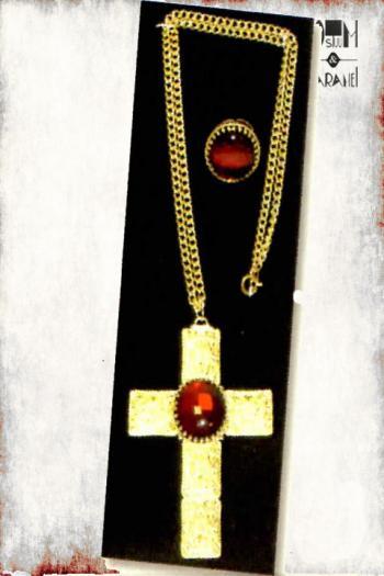 Juwelenset Sint Kruis Ring