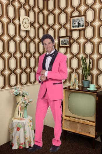 Pink Suit 50's