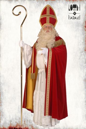 Kostuum Sint Compleet Luxe Fluweel Tv-kwaliteit