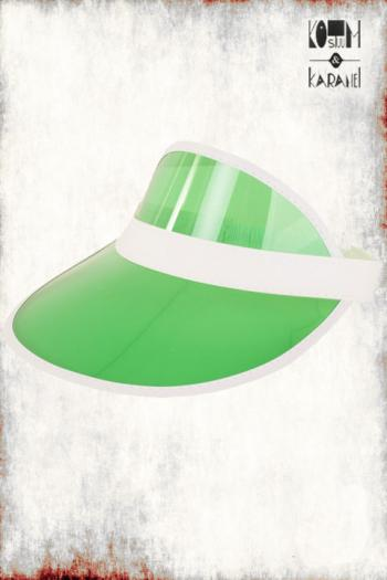 Zonneklep Groen Fluo