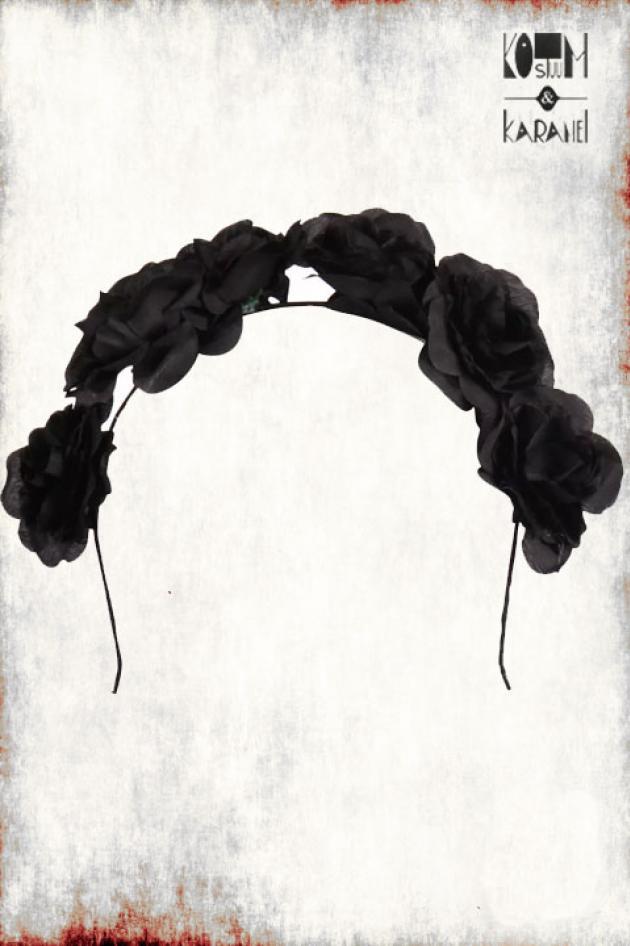 Diadeem Zwarte Rozen