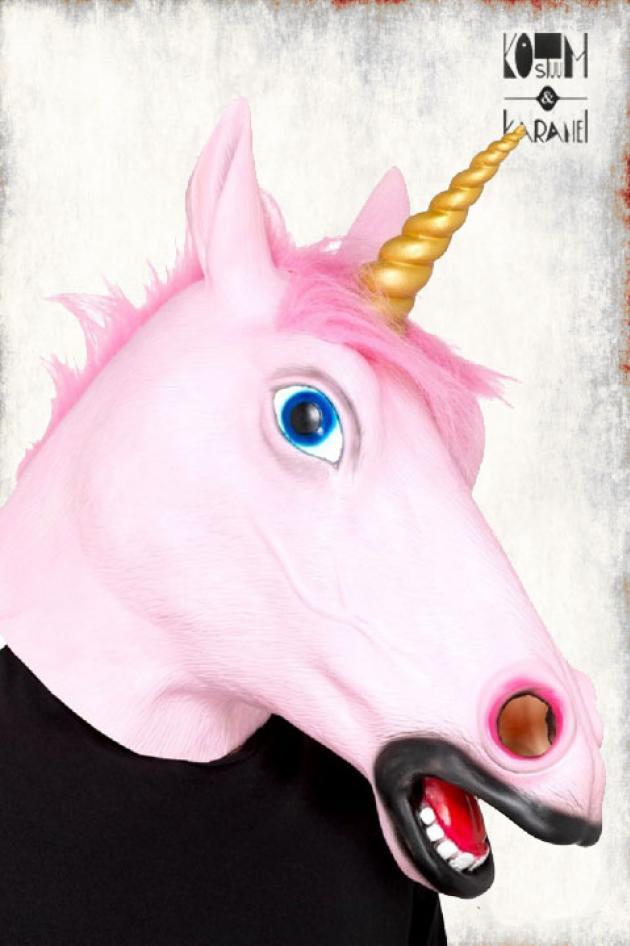Masker Unicorn Roze