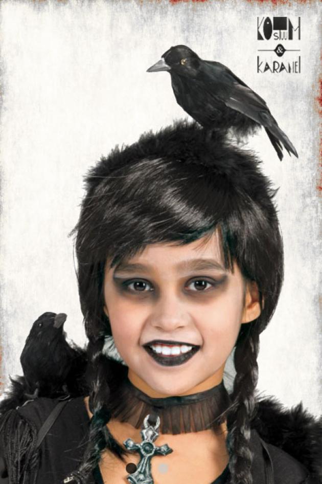 Diadeem Kraai Klein Halloween