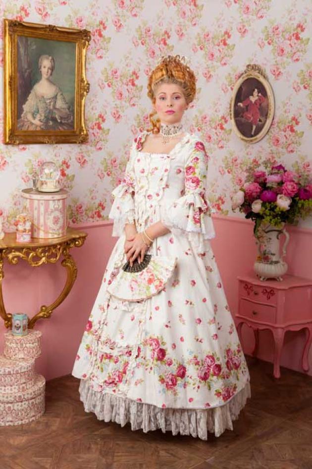 Marie Antoinette Kleed