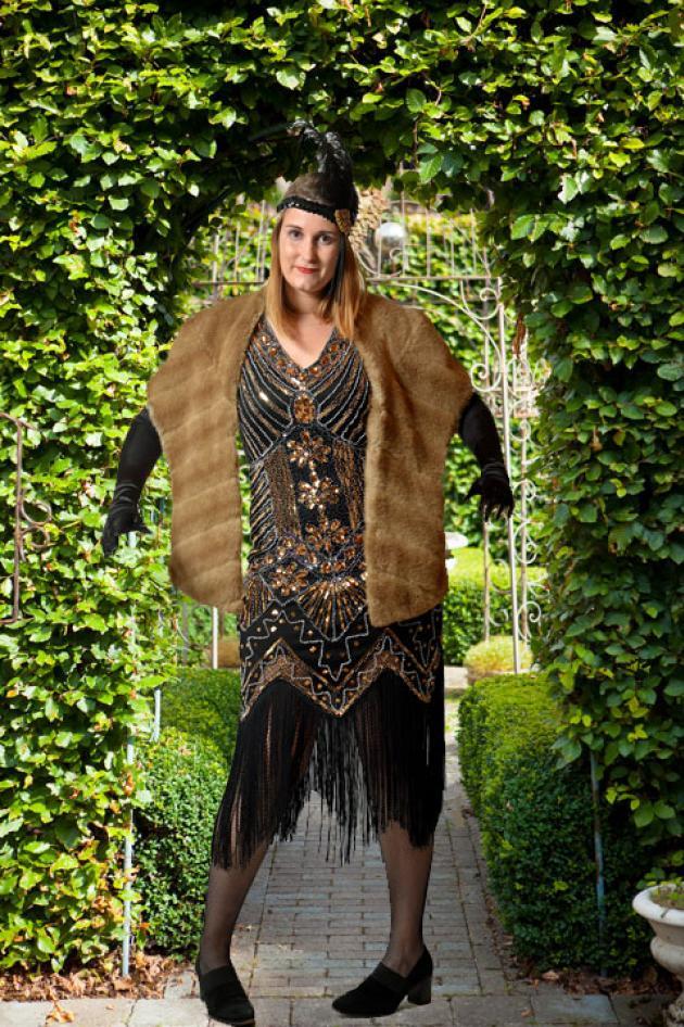 Great Gatsby Kleedje Yvonne