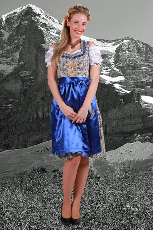 Oktoberfest Outfit Blauw Martha