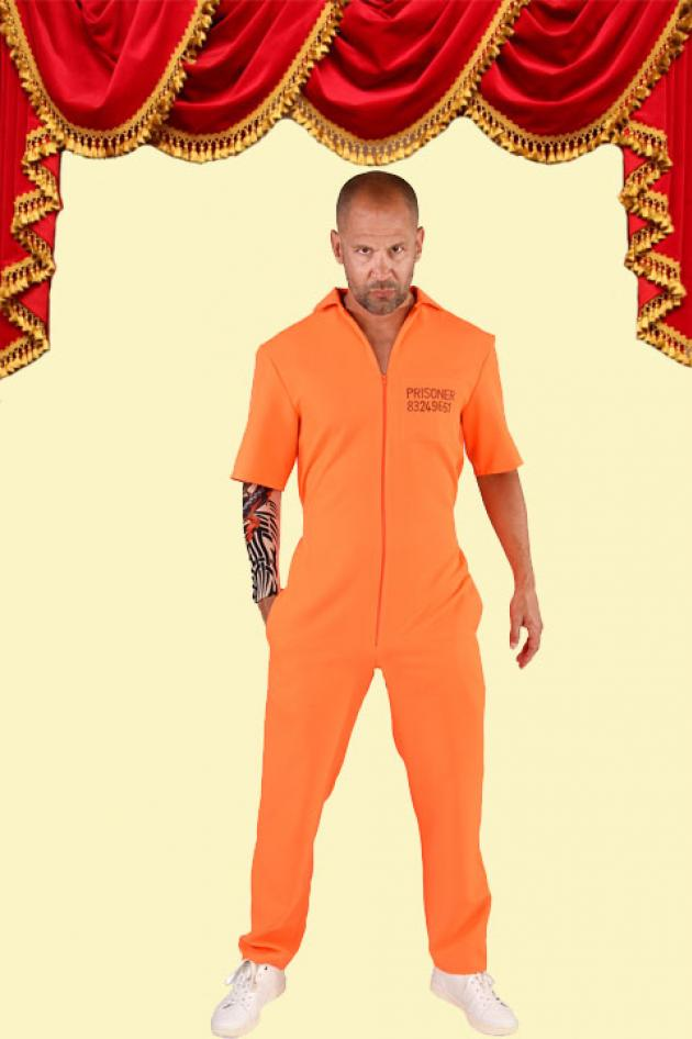 Gevangene Orange Kostuum