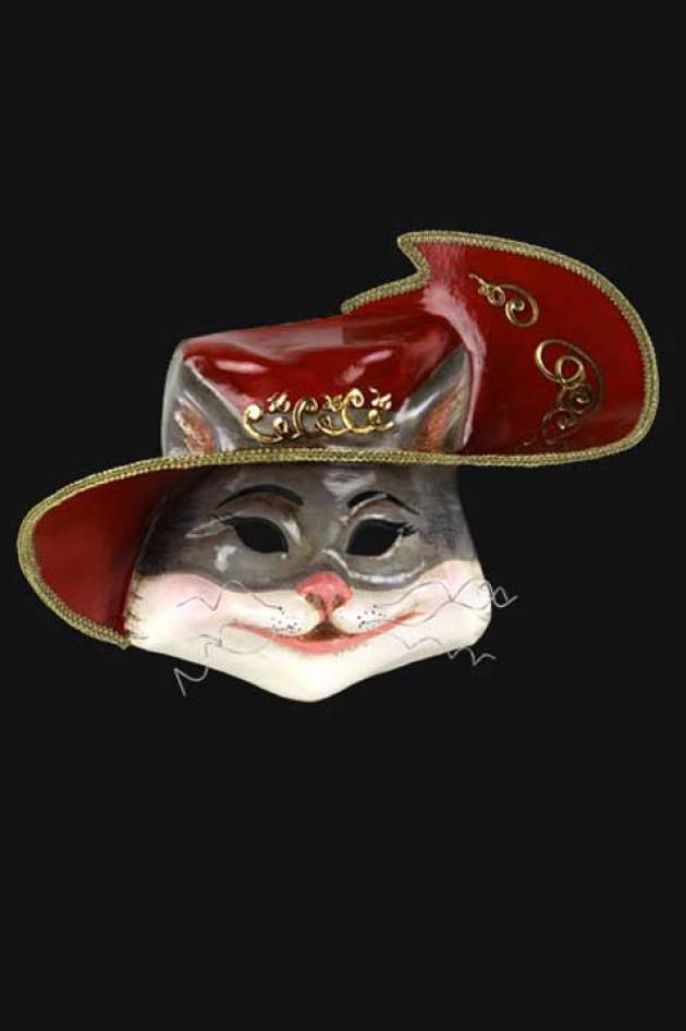 Masker Gelaarsde Kat