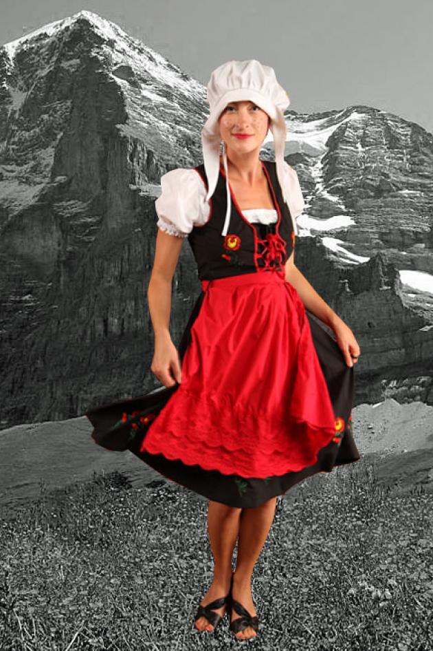 Tirolerkleedje Blanda