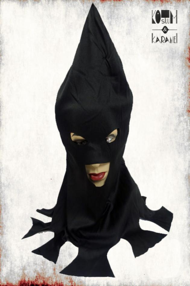 Beulenkap Stof Zwart