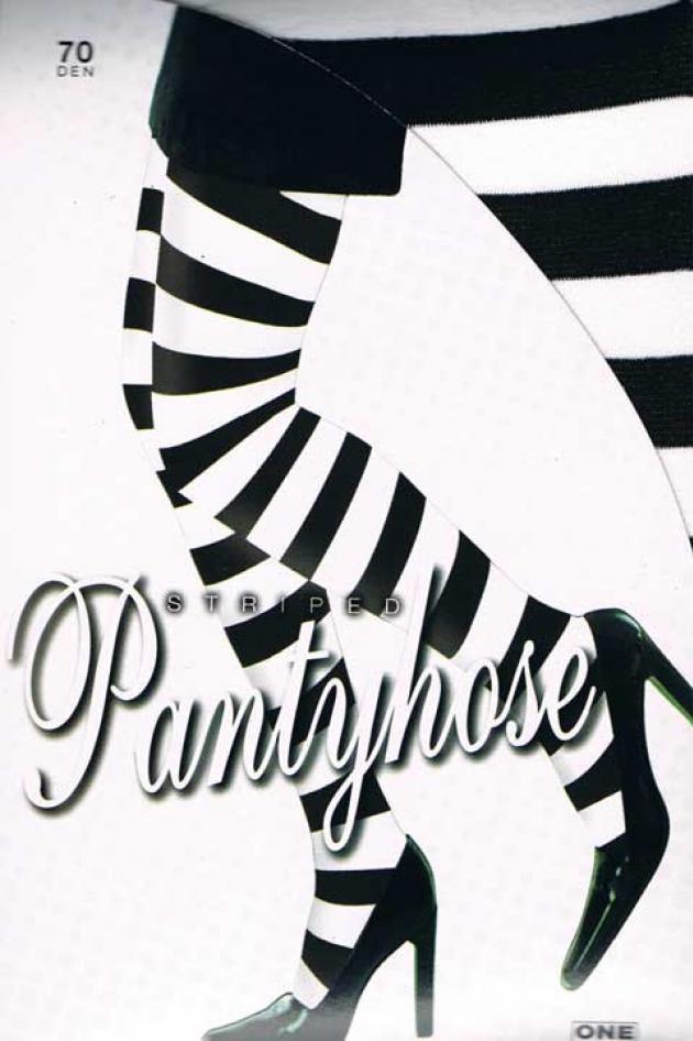 Panty Zwart Wit