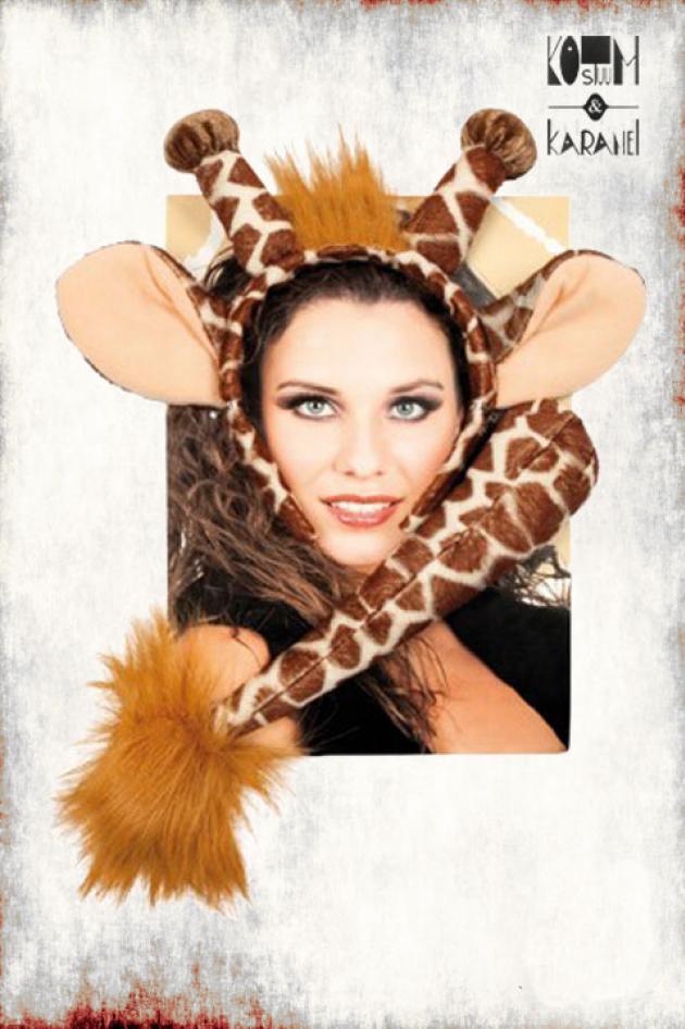 Diadeem Giraf met staart