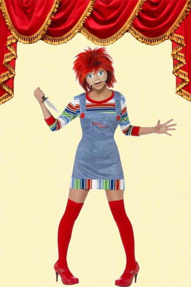 Chucky Girl Kostuum