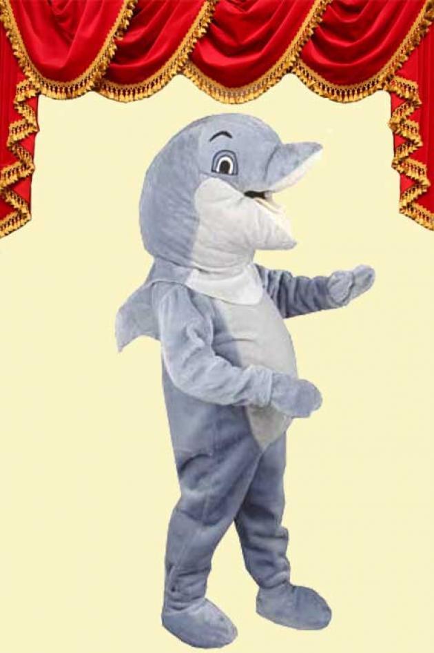 Dolfijn Mascotte