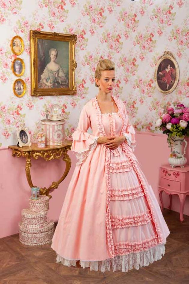 Barok Kleed Roze